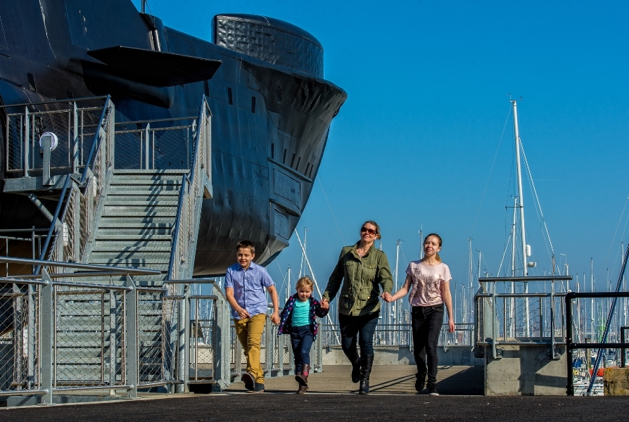 Visit your favourite Portsmouth attractions
