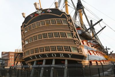 Biggest change to  HMS Victory in nearly a century
