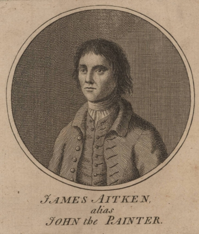 Jack the Painter was a mercenary who committed heinous acts at Portsmouth Dockyard during the American Revolution.