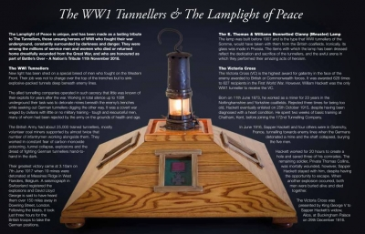 The Lamplight of Peace arrives at Portsmouth Historic Dockyard