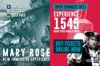 New Mary Rose Museum 1545 Experience