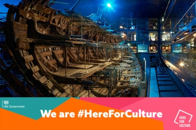 Culture Recovery Fund support for Mary Rose
