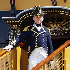 Trafalgar Day onboard with Captain Hardy