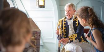 Chat to Captain Hardy (11 am - 1 pm)