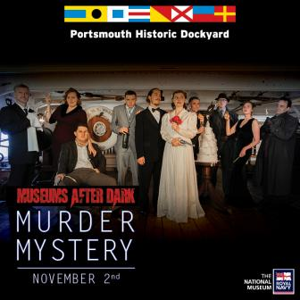 Museums After Dark Presents Murder on the High Seas