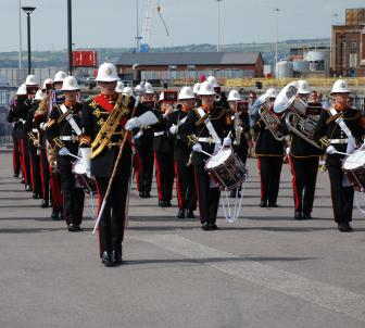 Naval Tea Club: Life on the Ocean Wave – Royal Marines Band Special