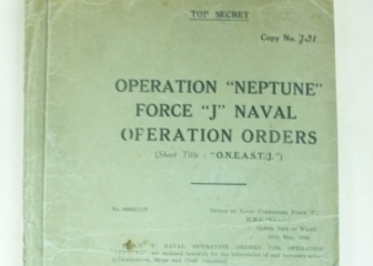Operation Neptune Naval Operational Orders