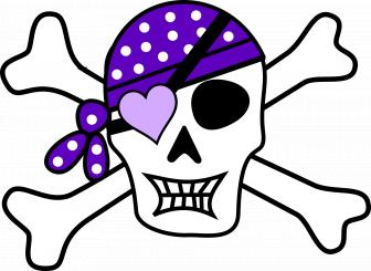 Create your own pirate eye patch