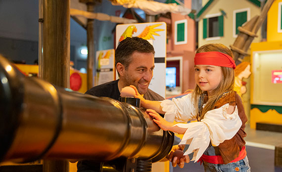 Be more pirate this summer at Horrible Histories