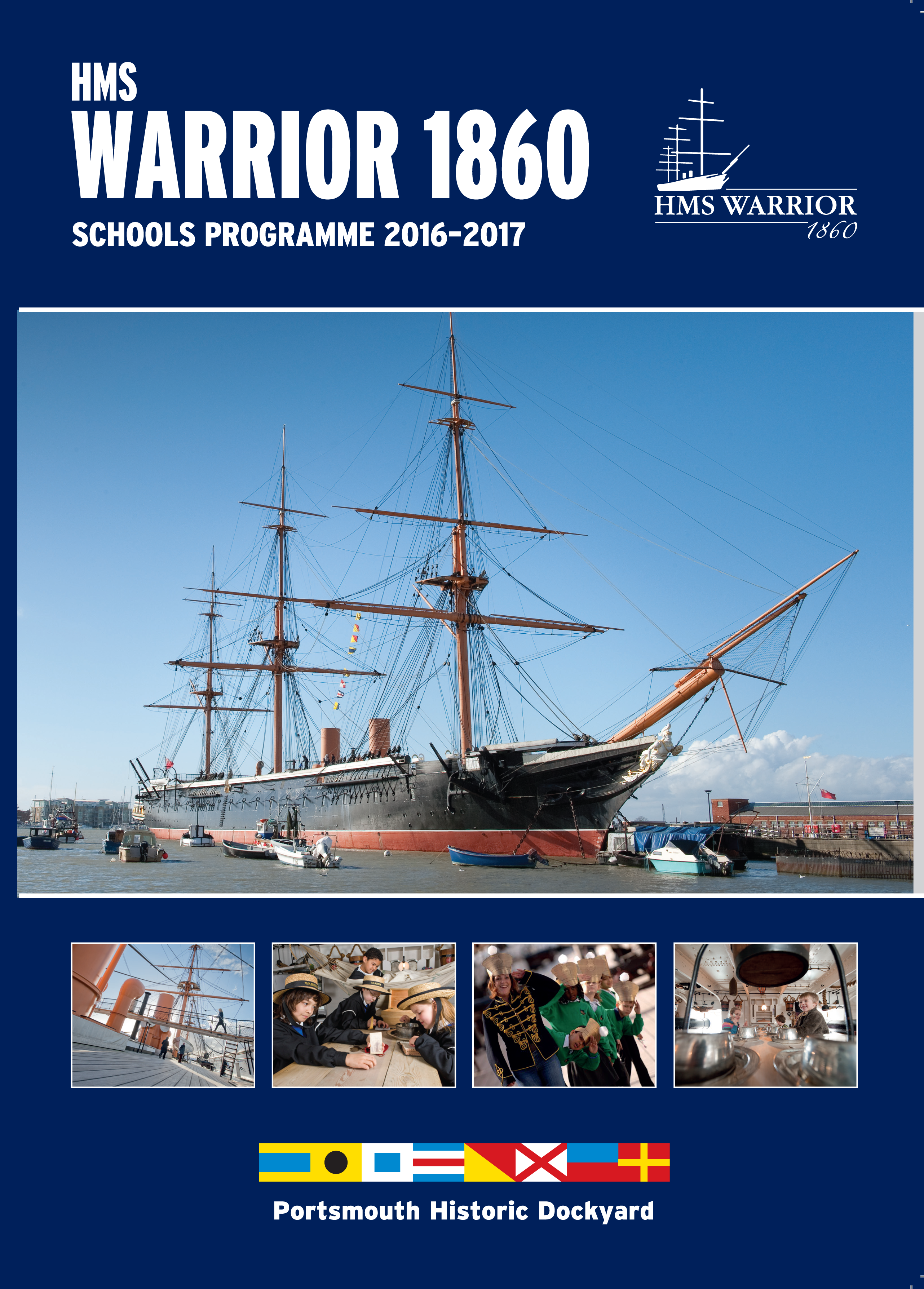 PHD Learning Brochure HMS Warrior