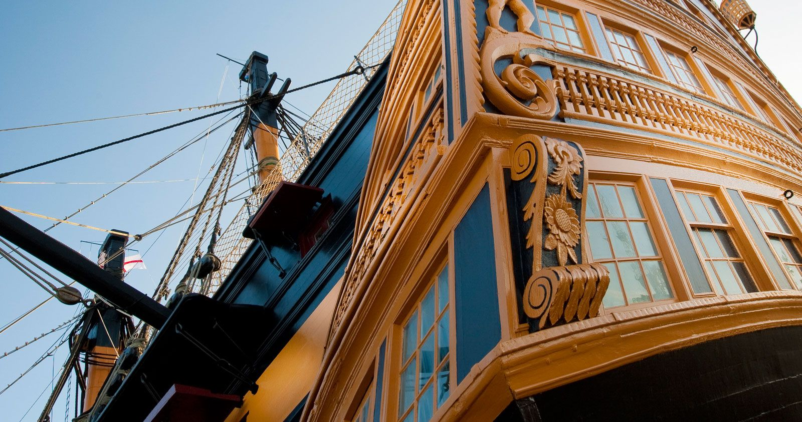 Walk the historic decks of Nelson's celebrated HMS Victory