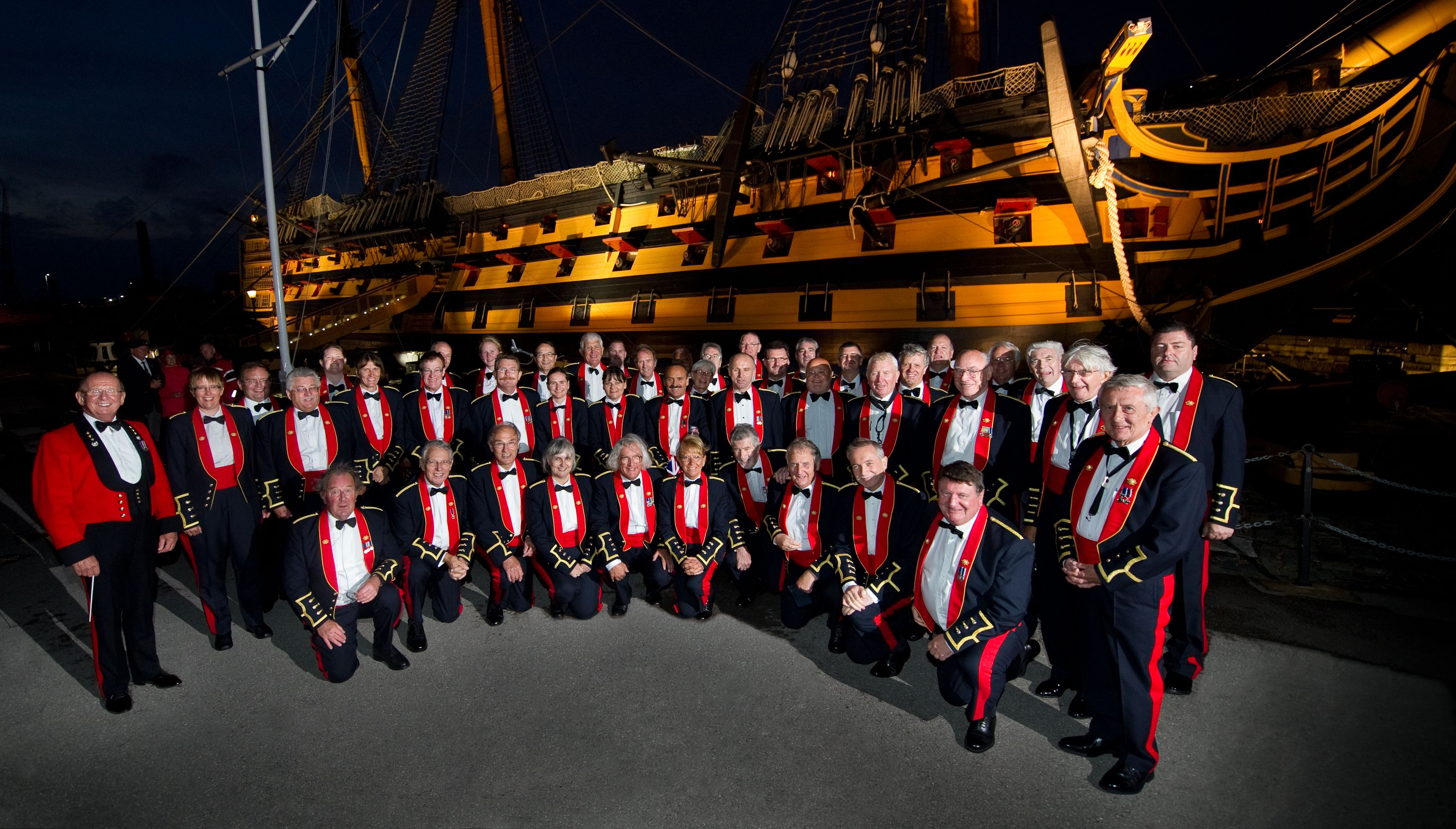 Dockyard at Dusk exclusive concert celebrating HMS Victory's 250th anniversary