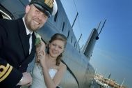 Wedding at the Royal Navy Submarine Museum