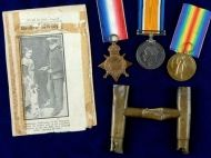 Trombone artefact and medals of Royal Marine bandsman who fought at Jutland to be told at blockbuster exhibition