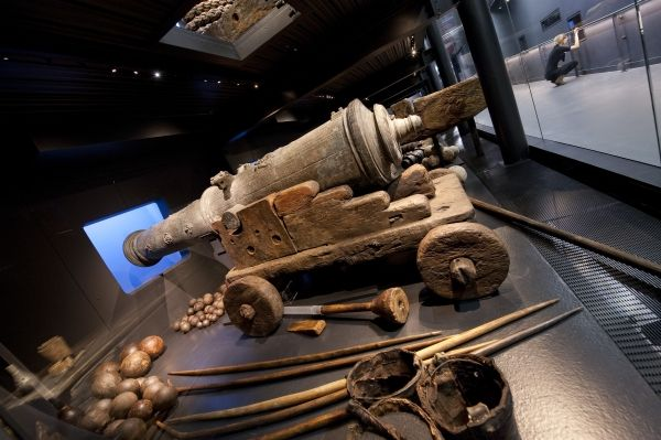 Tudor cannon from the Mary Rose is to be used by the British Museum