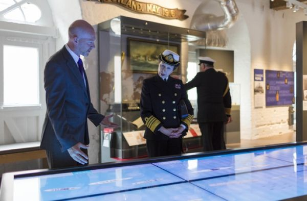 HRH The Princess Royal officially opens the Hear My Story gallery