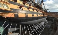 World first for HMS Victory as ambitious engineering project resupports flagship