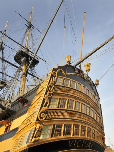 Hands on HMS Victory!